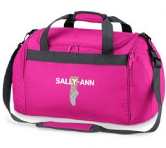 Personalised BALLET SHOES Bag Mini Holdall  BG200